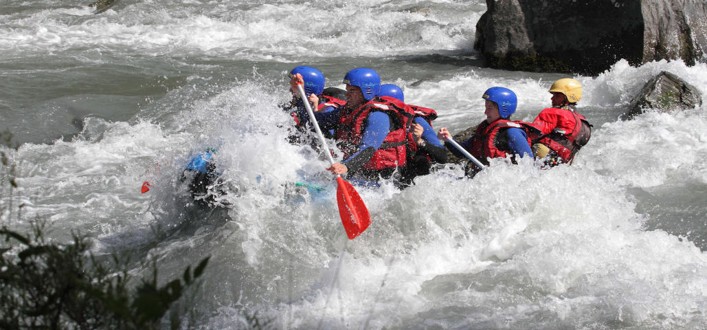 Rafting Groupe Annecy Chéran