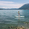 Yoga & stand up paddle at La Crique