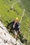 Via Ferrata climbing Annecy
