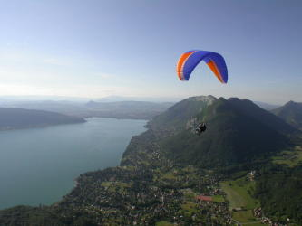 Paragliding Flight Ascendance / Sensation - Annecy