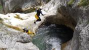 Canyoning Sauts Annecy lac Montmin