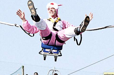 Bungee Jumping Stag Hen party