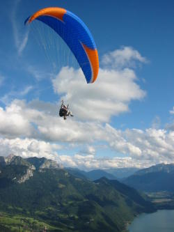 Paragliding Flight Sensation Annecy