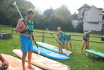 Activity business seminars Paddle lake Annecy.