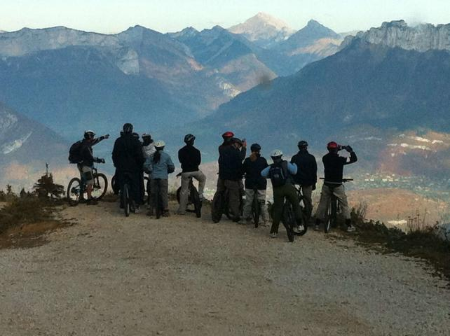 Stag party VTT Annecy