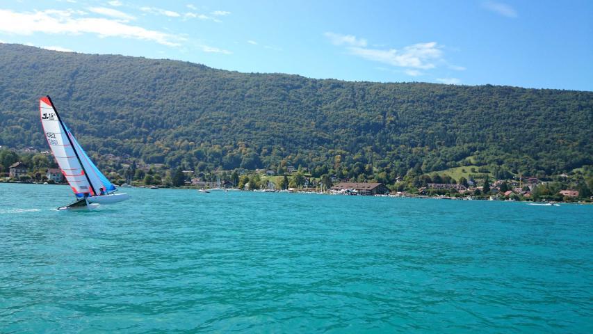 Comité Entreprise Lac Annecy Voile