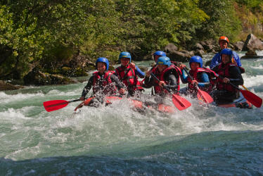 Rafting in the Gorges of Centron