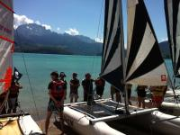 Catamaran seminars lake Annecy