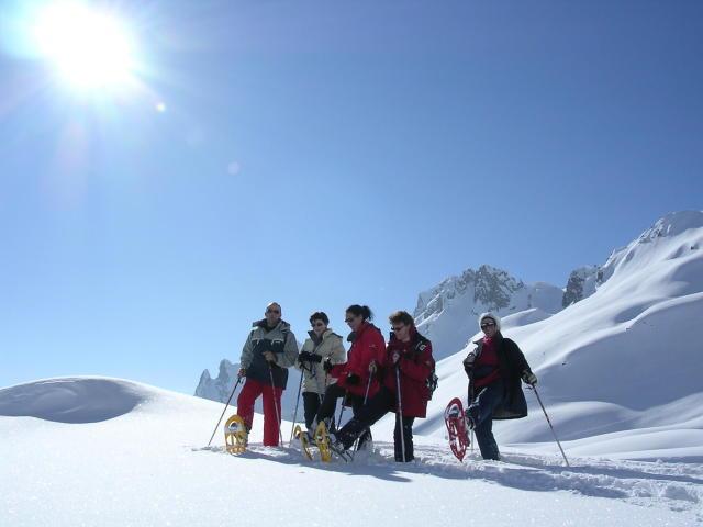 Snowshoeing & Restaurant