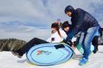 Challenge des Neiges - Curling humain