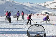 Hockey sur neige Séminaire Haute-Savoie