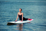 Yoga & Stand up paddle at Annecy