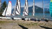 Catamaran Event business seminars lake Annecy