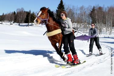 Initiation Ski Joëring (45mn)