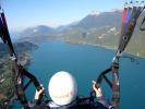 Paragliding sensation flight