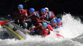 Rafting introduction Montgirod Annecy