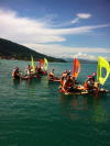 Organisation rafts lake Annecy
