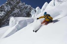 ski hors piste Vallée Banche
