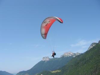 Paragliding Flight Prestige Annecy