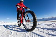 Fatbike sur neige