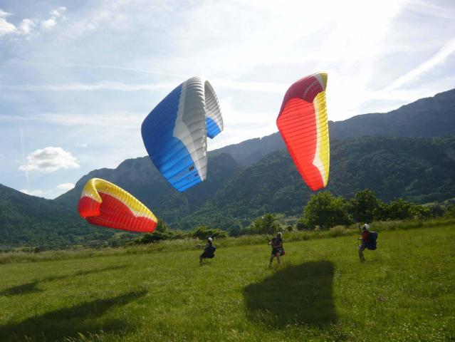 Paragliding training week lake Annecy