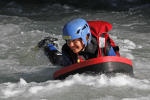 Whitewater activity Annecy