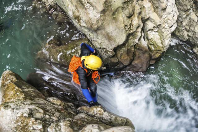 Descente de Canyoning à Annecy