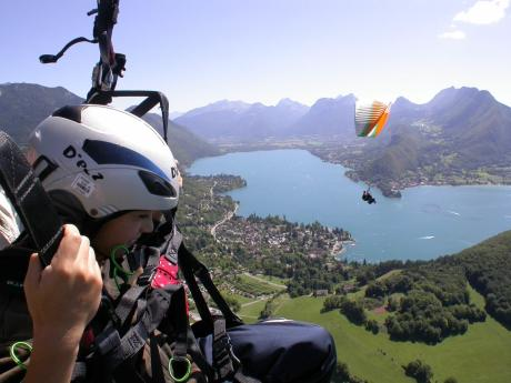 Paragliding Flight - Annecy