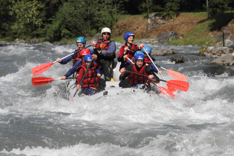 Rafting near Annecy